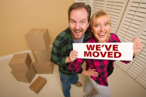 moving tips: address change